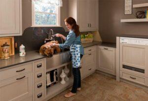Una cocina adaptada para tu mascota