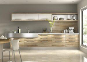 Tipos de materiales para muebles de cocina